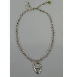 Neiman Marcus Lock Necklace - NWT